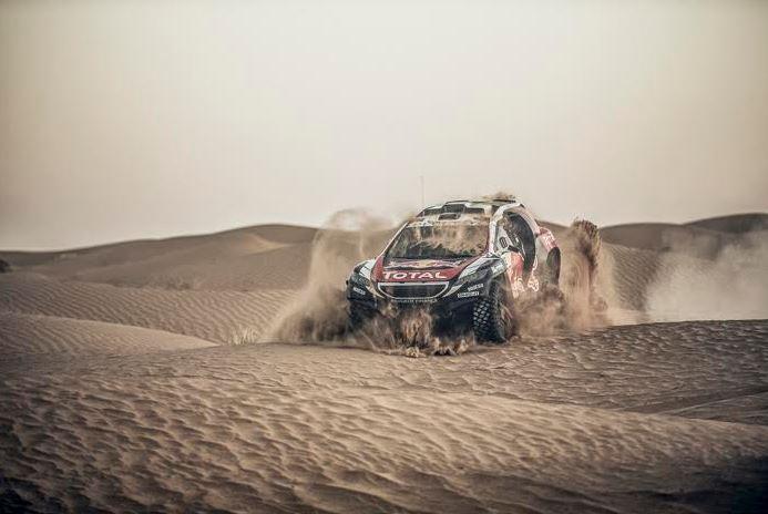 2008 DKR 2015+: Un adelanto del coche que encarnará al del Dakar 2016