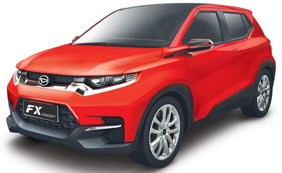 Aquí están las primeras imágenes del Daihatsu FX Concept: ¿Lo veremos como Toyota en Europa?