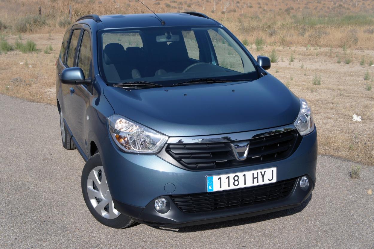 Prueba Dacia Lodgy 1 6 Mpi 85 Cv Glp Laureat U00e9 7 Plazas  La