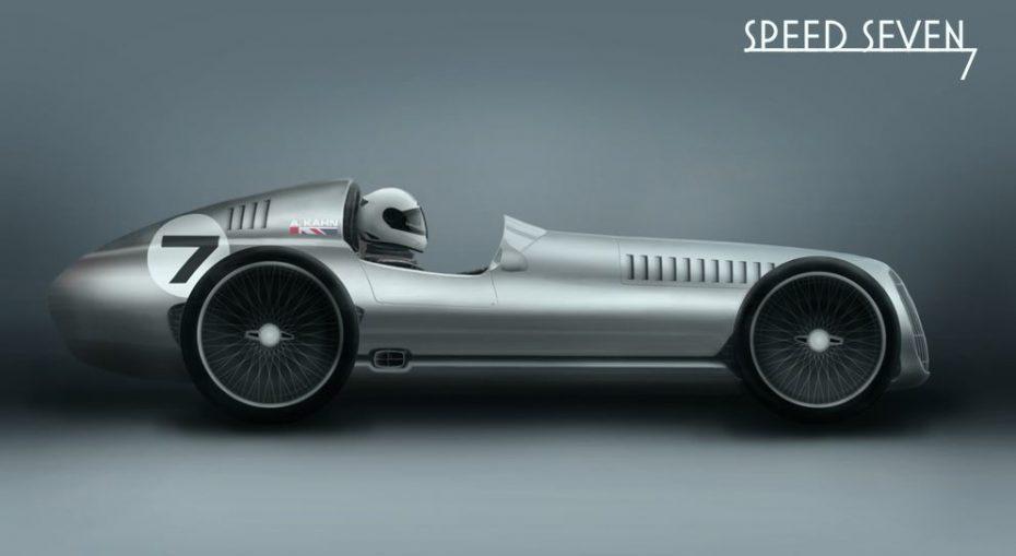 Speed 7: El nuevo proyecto de Kahn es un coche de carreras de aspecto retro