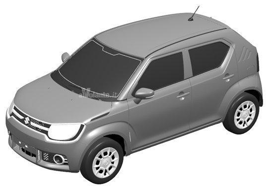 El Suzuki iM-4 se cuela en la oficina de patentes: El nuevo urbano japonés está casi listo