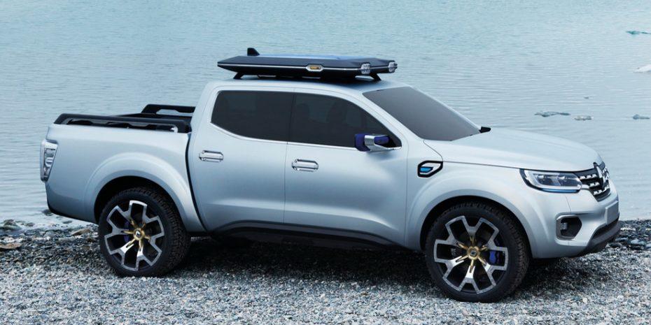 Primeras imágenes del Renault Alaskan Concept: El pick up cada vez más cerca
