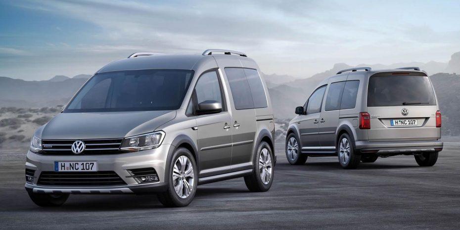 Nuevo Volkswagen Caddy Alltrack: Aspecto campero y tracción 4Motion