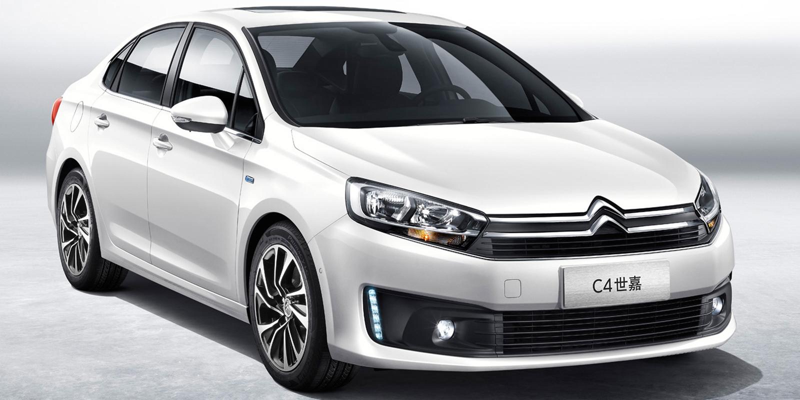Así es el nuevo Citroën C4 Sedán: Otra berlina compacta para China