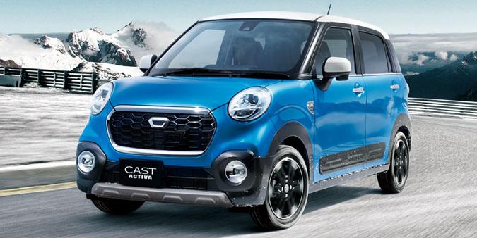 Nuevo Daihatsu Cast, otro simpático kei-car: Disponible con tres caras diferentes