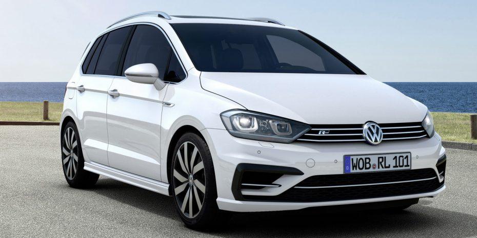 El Volkswagen Golf Sportsvan recibe el paquete R-Line: Diseño más deportivo, mismas mecánicas