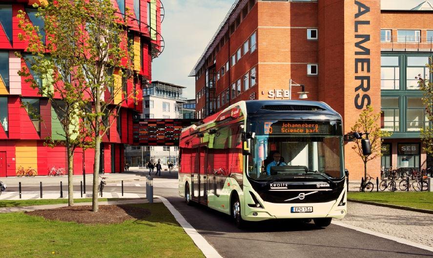Los autobuses eléctricos de Volvo son tan silenciosos que alguien ha ofrecido conciertos a bordo