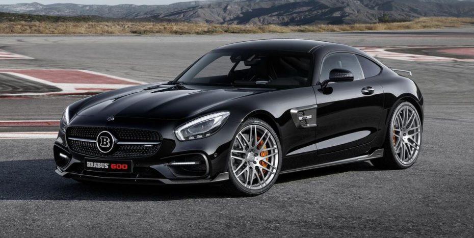BRABUS refina el Mercedes-AMG GT S: 600 CV para el V8 biturbo de Affalterbach