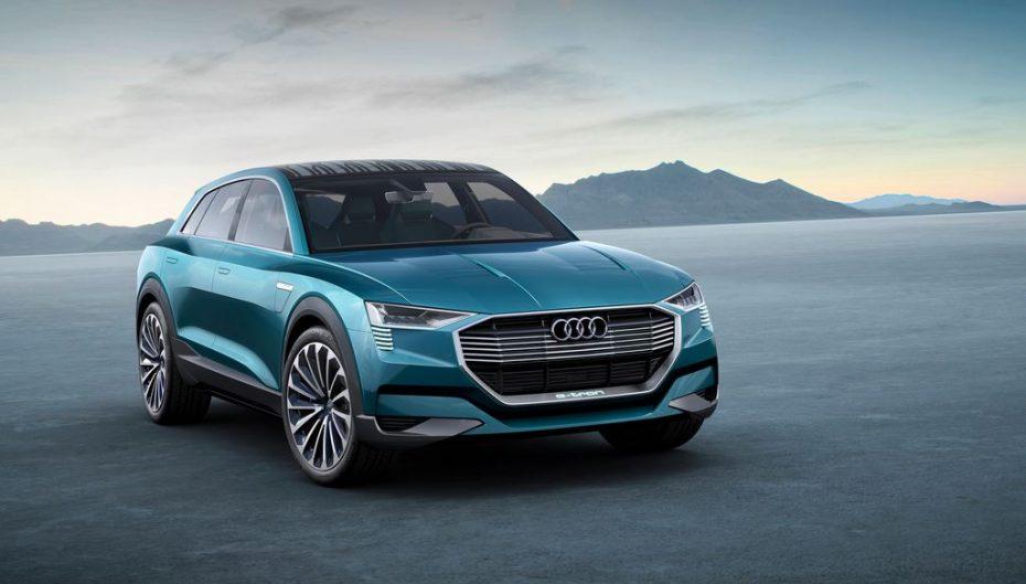 Audi e-tron quattro concept: Un 100% eléctrico con 503 CV y más de 500 km de autonomía
