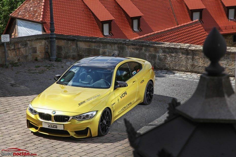 Una estética provocativa y 550 CV para hacer todavía más jugoso al BMW M4 de VOS