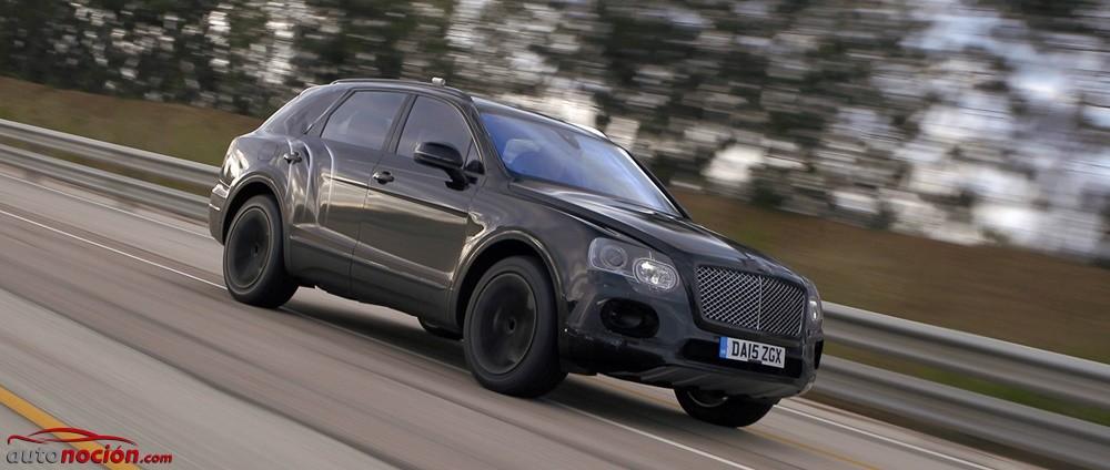 Bentley nos lanza otra 'pullita' en vídeo: el Bentayga será el SUV más rápido y potente del planeta