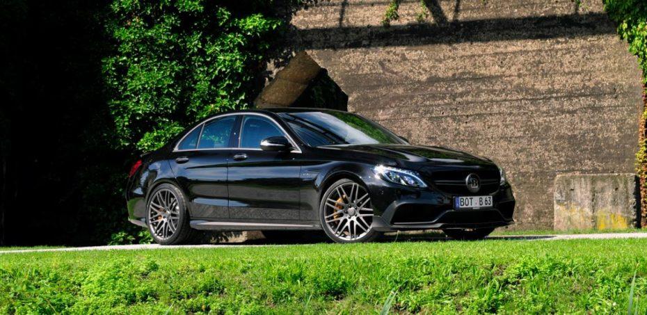 BRABUS le da al Mercedes-AMG C63 S un retoque: 600 CV y 300 km/h de punta