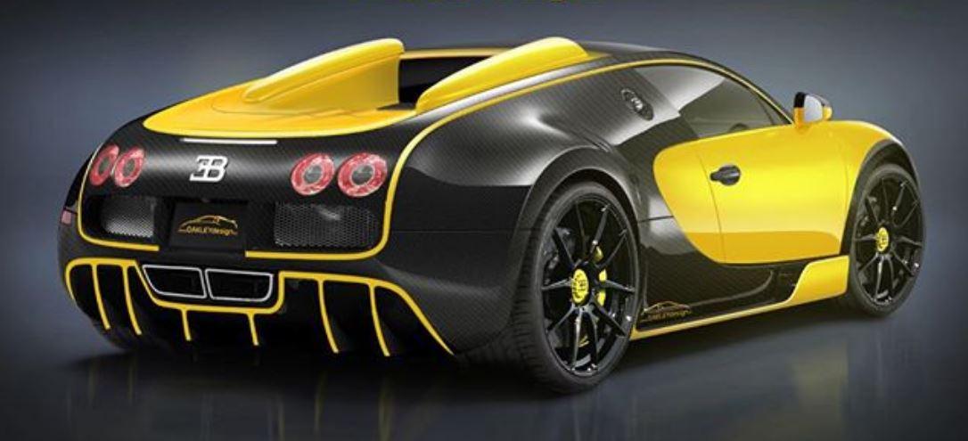 Oakley Design prepara algo salvaje sobre la base del Bugatti Veyron: ¡Más potencia y fibra de carbono!