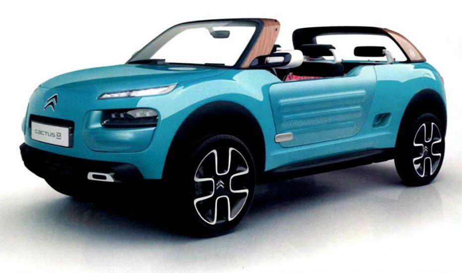¡Filtrado!: Citroën Cactus M Concept, el Mehari morderno…