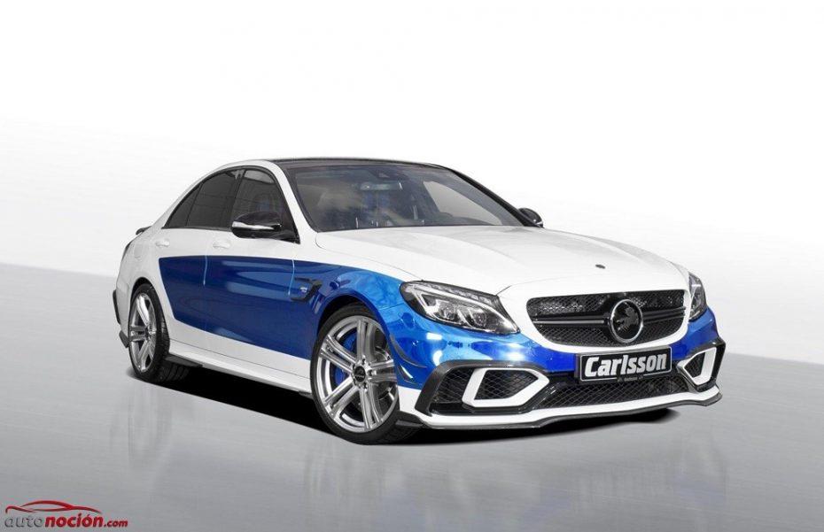 Carlsson CC63S Rivage: Un Mercedes-AMG C63 S con estilo propio y 605 CV bajo el capó