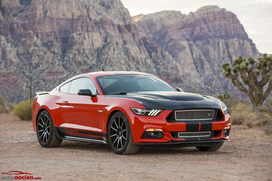 Shelby GT Package: Grandes mejoras estéticas y 340 CV 'de la casa' para el Mustang