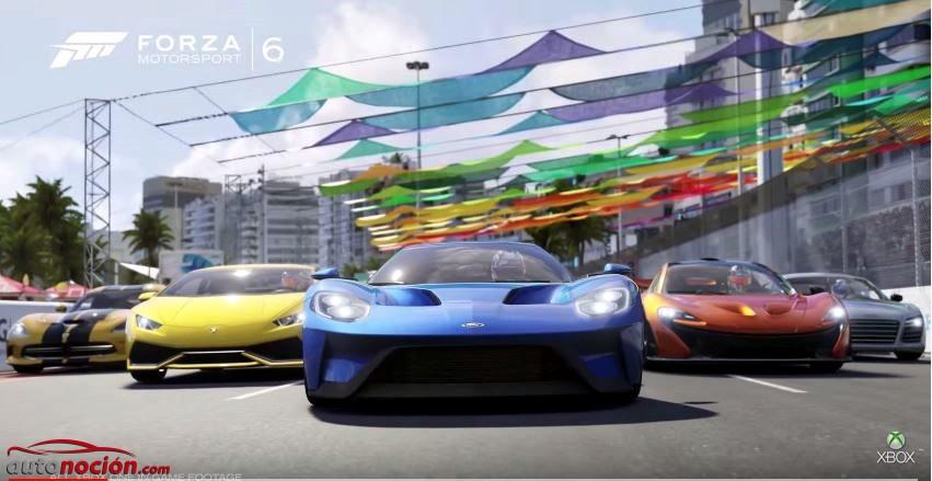 El espectacular tráiler de Forza Motorsport 6 ya es oficial: Después de verlo, desearás hacerte con él