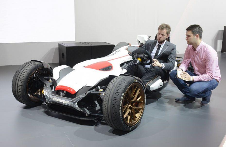 Un Ariel Atom a la japonesa con motor de MotoGP: El juguete de Honda nos ha dejado boquiabiertos