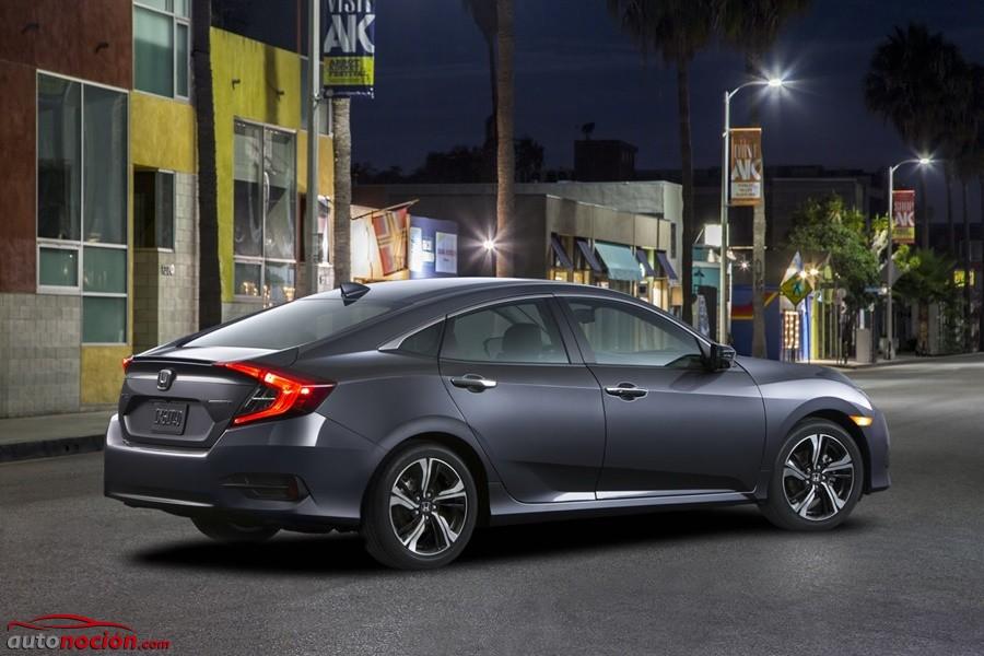 Así es el nuevo Honda Civic Sedán americano: Queremos uno así en Europa ¡ya!