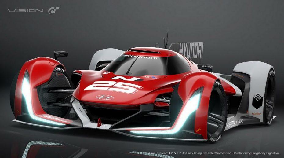 Hyundai N 2025 Vision Gran Turismo: Hidrógeno y cuatro motores in-wheel para el modelo virtual