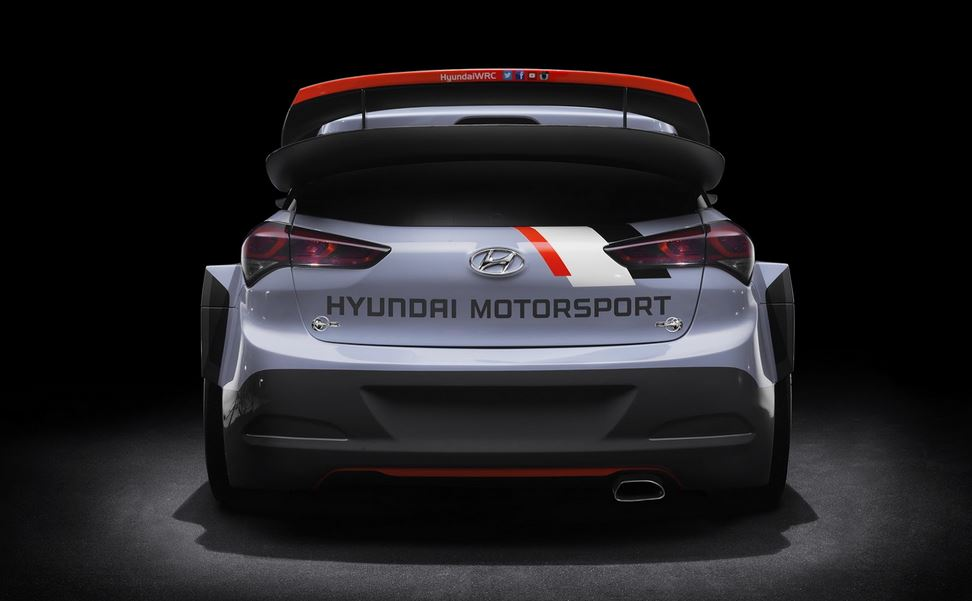 Hyundai i20 WRC Rally Car 4