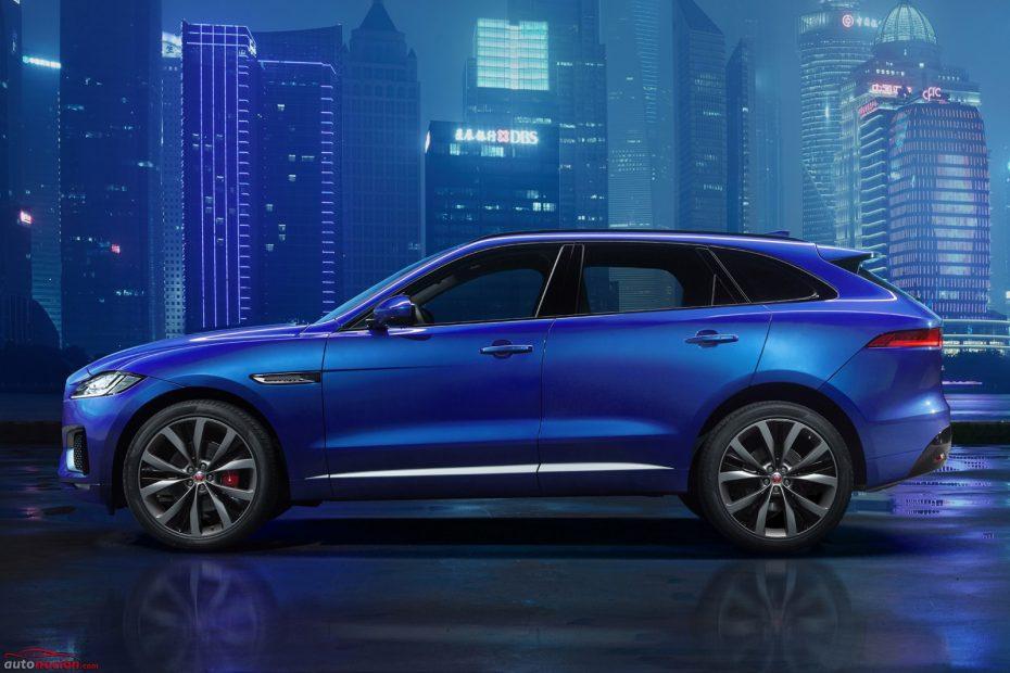El Jaguar F-Pace ¡Al desnudo!: primera imagen oficial antes de su debut en Frankfurt