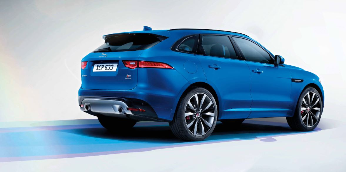 Jaguar F Pace first edition