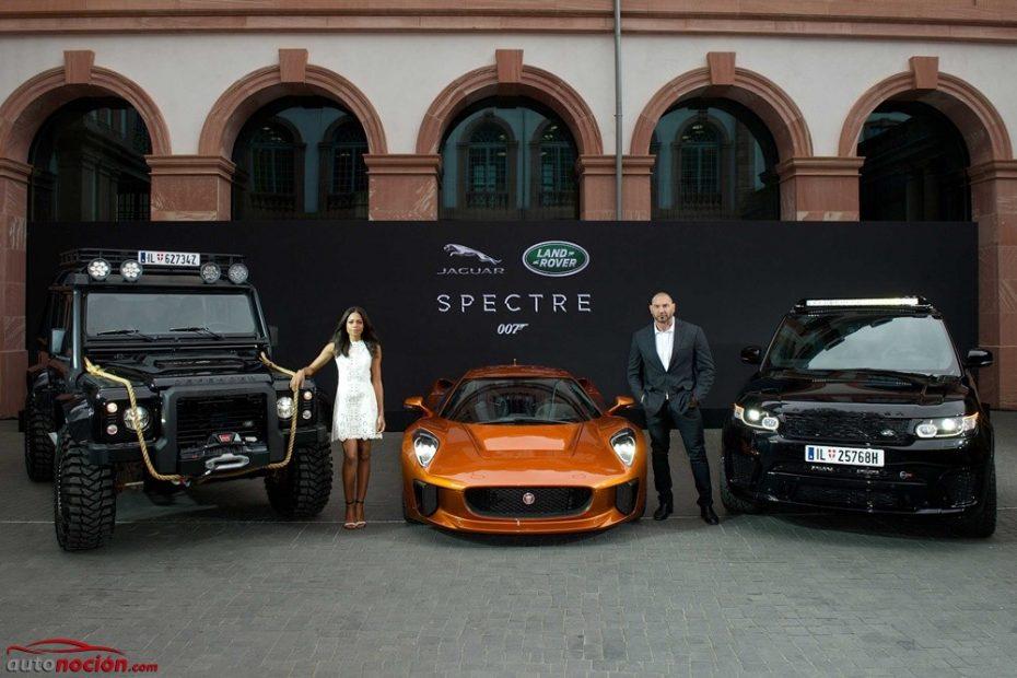 Más razones para soñar con ser James Bond: Estos son los Jaguar Land Rover que veremos en 'Spectre'