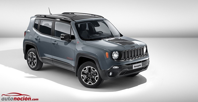 The Jeep Renegade Trailhawk also includes17,inch aluminum alloy