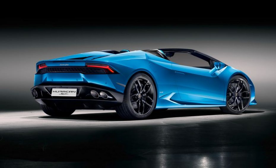 Lamborghini Huracán LP 610-4 Spyder: La variante a cielo abierto partirá de los 225.600 euros