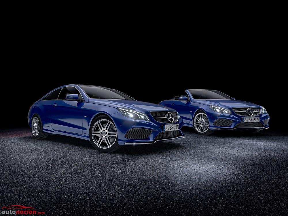 El Mercedes Clase E ahora más pintón y equipado gracias a los paquetes V8 y Sport Edition