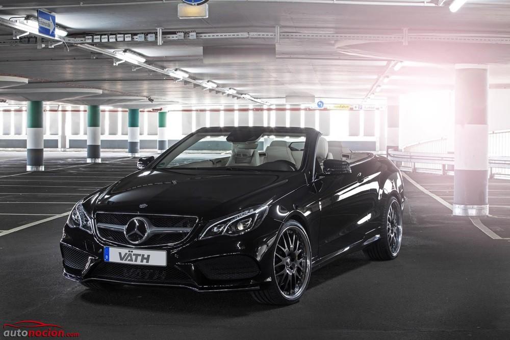 VÄTH lleva al Mercedes E500 Cabrio hasta los 550 CV: Por si el AMG no acaba de convencerte…