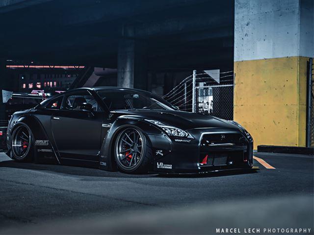 Brutal por fuera, salvaje por dentro: Así luce el Nissan GT-R de 1.000 CV creado por Liberty Walk
