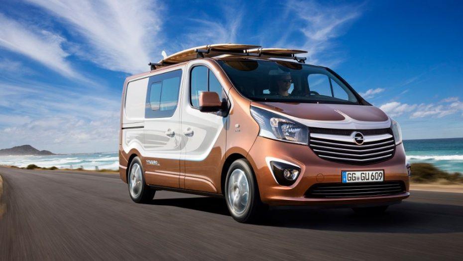Opel Vivaro Surf: Un concept que se convertirá en edición limitada