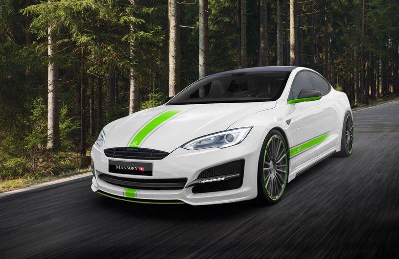 Mansory le mete mano al Tesla Model S: Pérdida de peso gracias a la dieta de la fibra