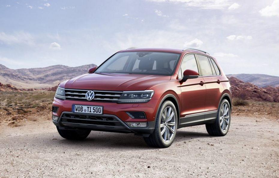 Así es el nuevo Volkswagen Tiguan: Un diseño más largo, ancho y plano gracias a la MQB