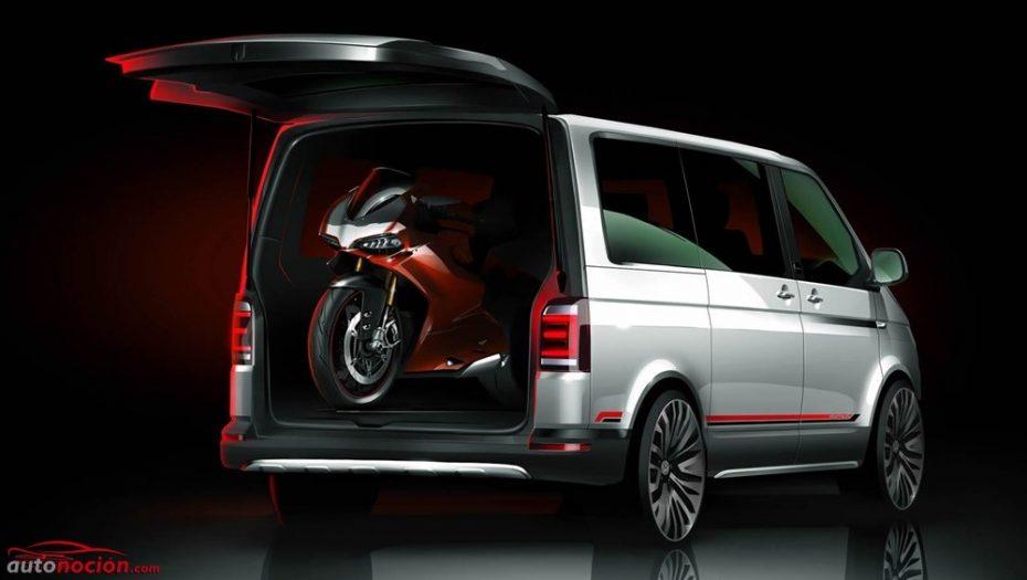 Volkswagen MultiVan PanAmericana Concept: El monovolumen definitivo para llevarte la moto a cuestas