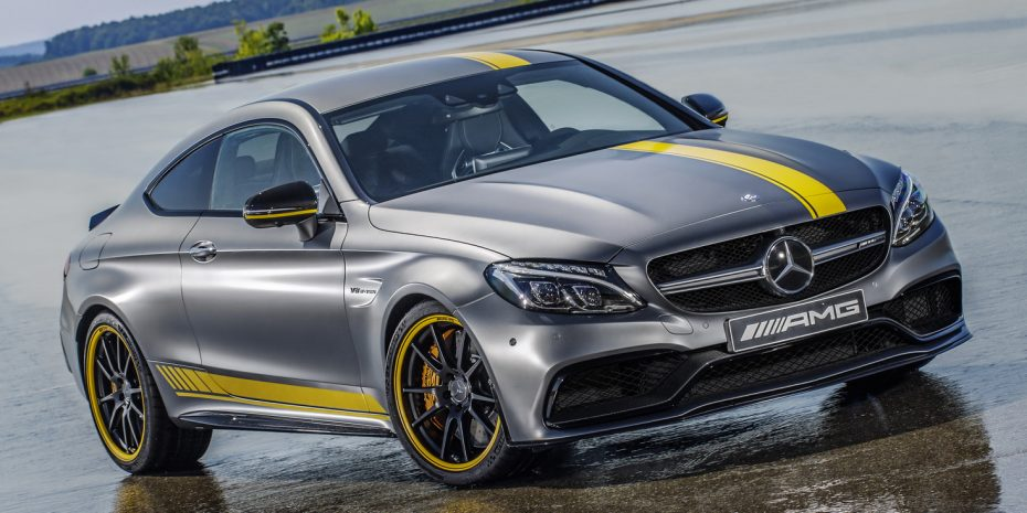Aquí está el Mercedes-AMG C63 Coupé Edition1: 476 CV y una estética poco discreta