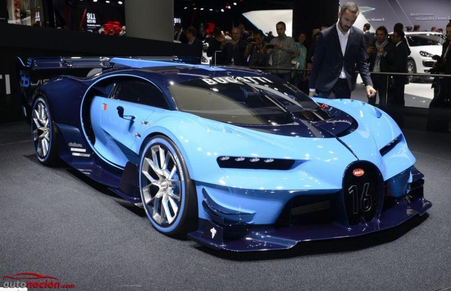Presta atención: El sucesor del Veyron estará inspirado en este Vision GT…
