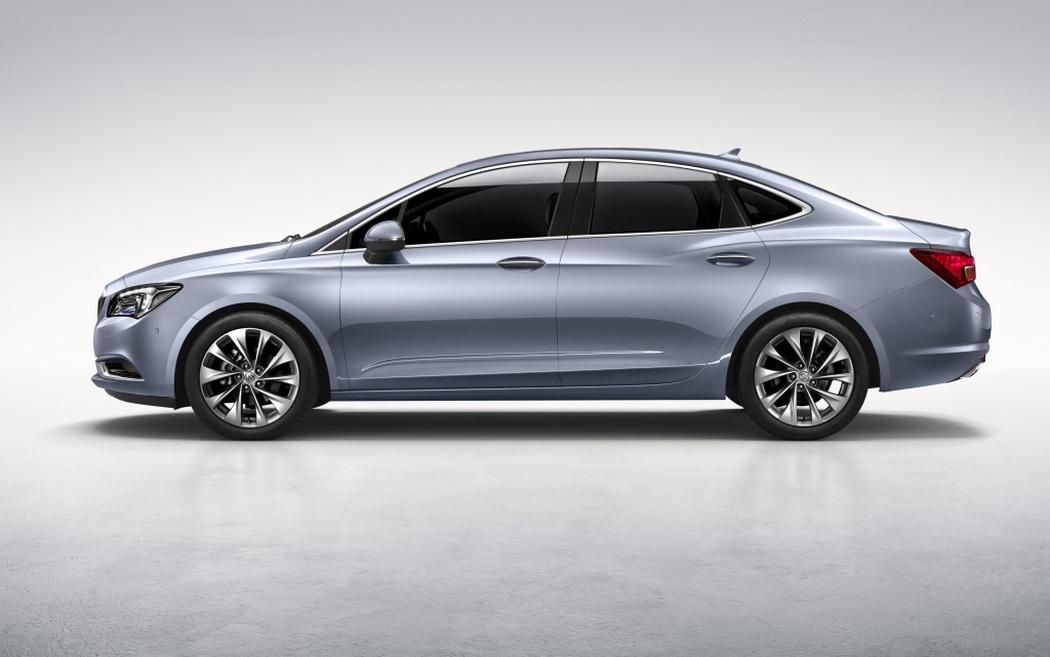 Opel Astra Sedan 2018 >> Así es el nuevo Buick Verano para China: Hola Opel Astra Sedán