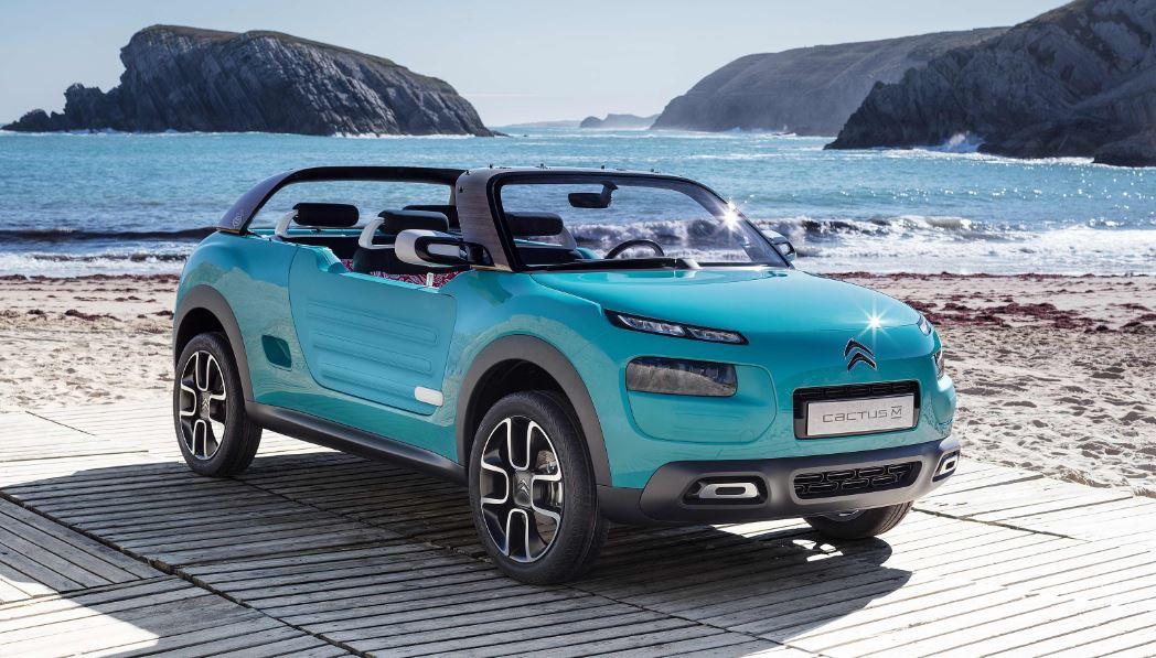 ¡Oficial!, Citroën CACTUS M: Una litera, una tienda de campaña y mucho más…