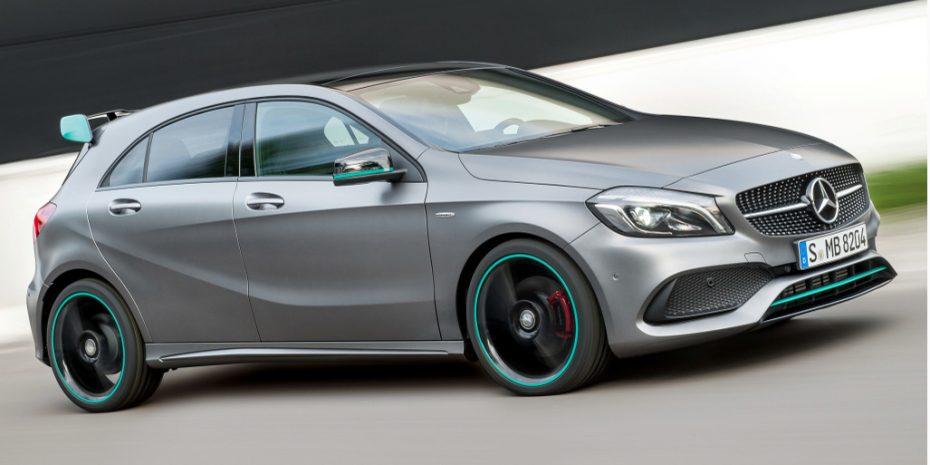 Nuevo Mercedes A250 Motorsport Edition: Decoración llamativa con motores normales