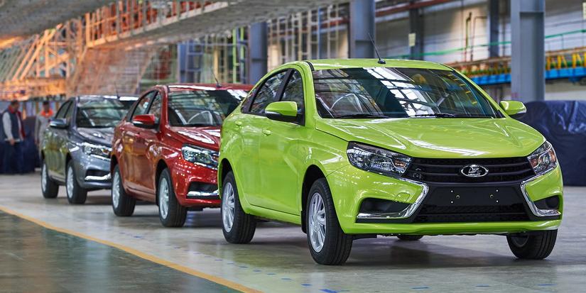 Arranca la producción del Lada Vesta: Una nueva era para el fabricante ruso