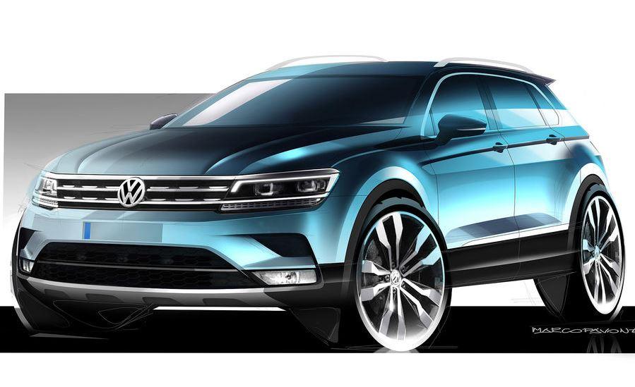 Ojo, dicen que este podría ser el aspecto del nuevo Volkswagen Tiguan…