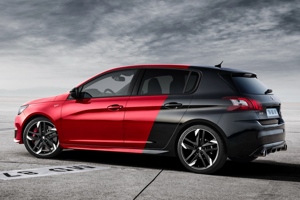 el peugeot 308 gti ya est aqu llega con precios competitivos. Black Bedroom Furniture Sets. Home Design Ideas