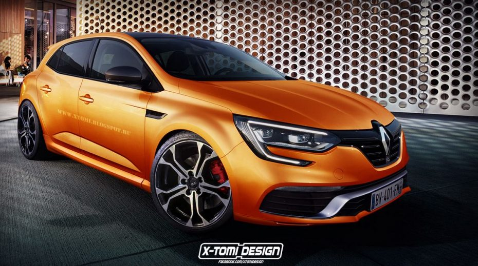 Empezando a especular: Así podría ser el nuevo Renault Mégane RS