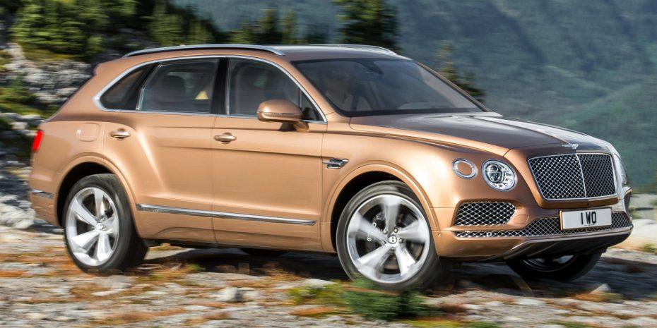 El Bentley Bentayga ya es un éxito: Hay lista de espera de más de un año