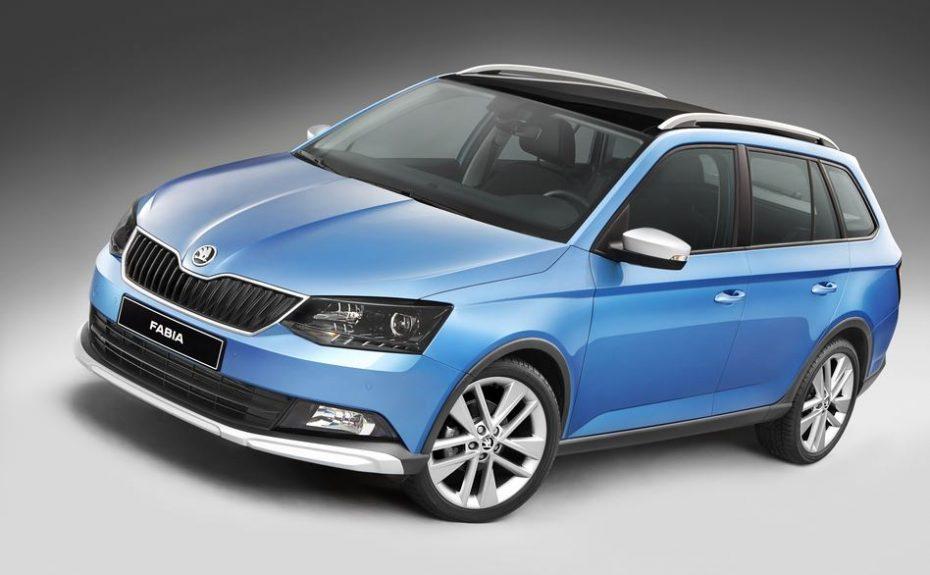 Škoda Fabia Combi ScoutLine: La variante familiar se viste de campo
