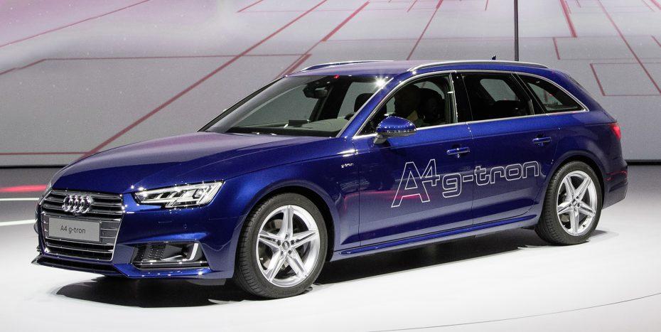Nuevo Audi A4 Avant g-tron: Alimentado con gas natural o gasolina sin plomo