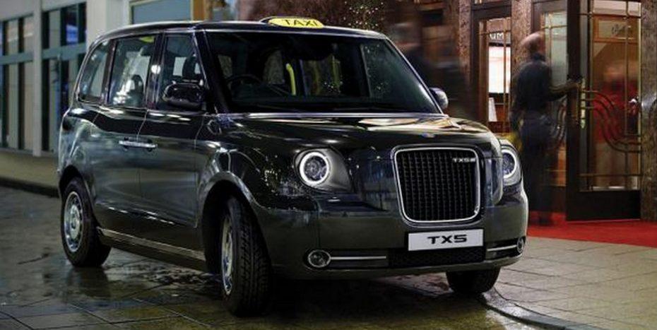 Primera imagen del nuevo London Taxi TX5: Llegará a las calles de Londres el año que viene